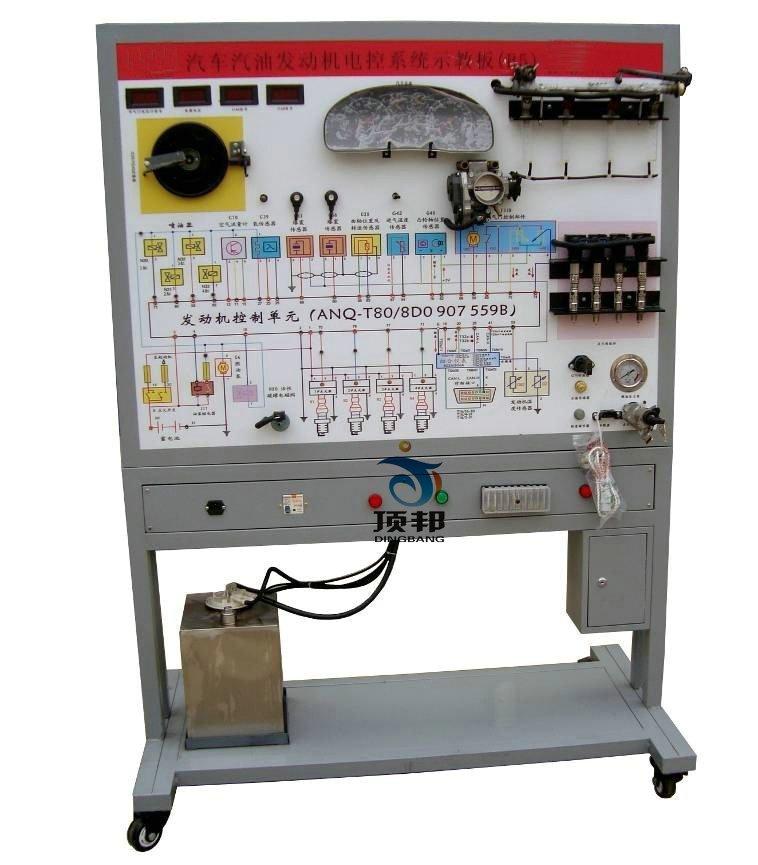 工作温度:-40℃~ 50℃   k5发动机电控系统(喷射与点火系统)示教板