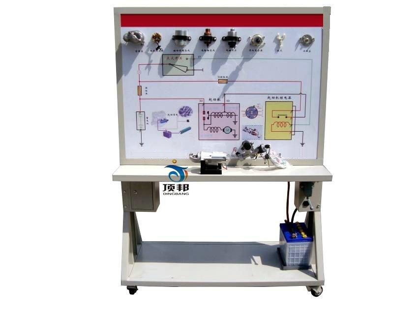 适用于拖拉机起动系统模块的结构与原理认知