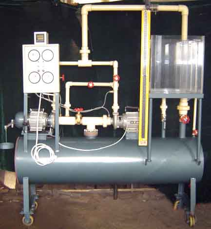 自循环离心泵综合试验台