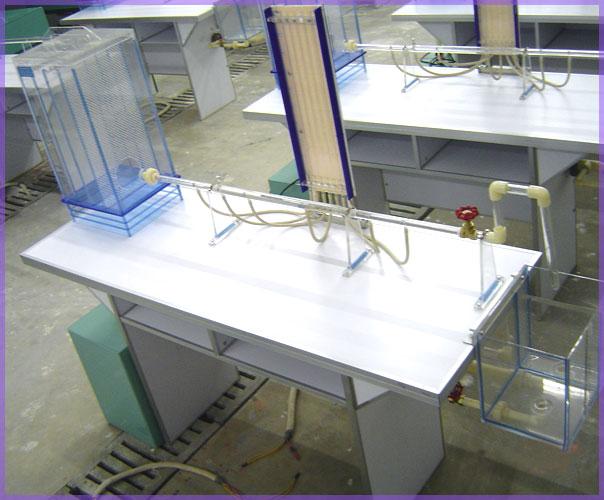 自循环局部阻力系数测定实验台