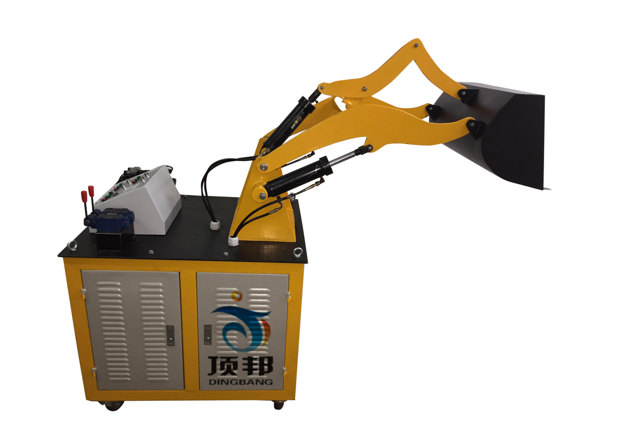 装载机液压系统与PLC控制实训装置