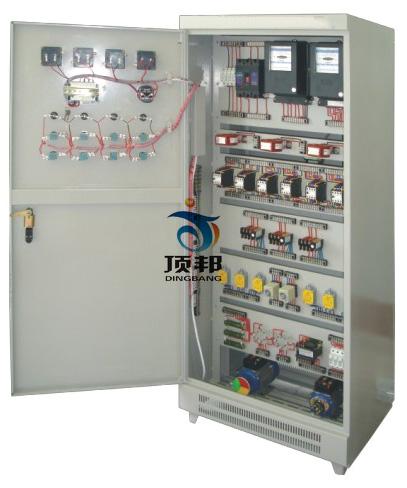 被控制电机安装于电气控制柜内