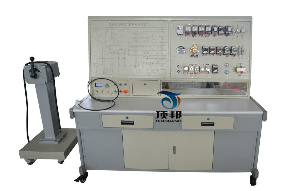 船舶绞缆机电气控制技能实训装置