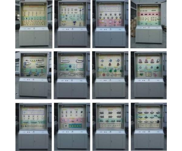 机械设计零件陈列柜