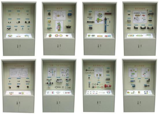 气动液压元件陈列柜