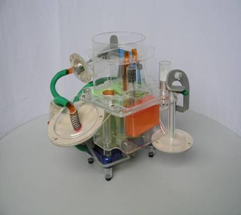 桑塔纳化油器模型