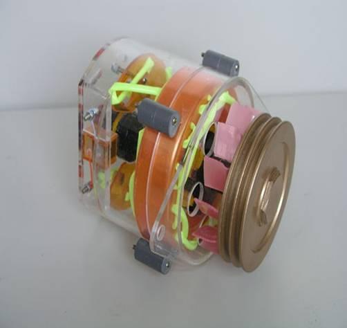 交流发电机模型