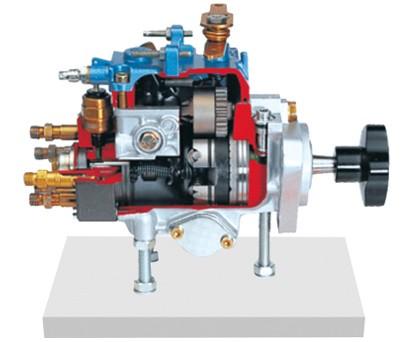 离心控制分配型喷射泵解剖模型