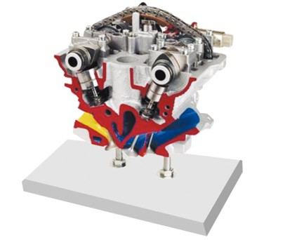 奥迪5阀带凸轮轴调整装置的解剖模型