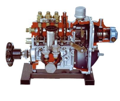 真空控制喷射泵解剖模型