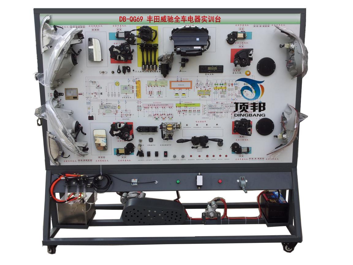 一,产品简介     该 丰田威驰全车电器实训台采用丰田威驰整车电器