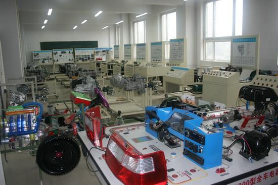 桑塔纳3000全车仿真电路实验台