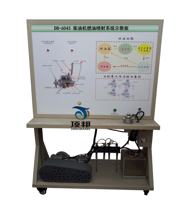 可直接在面板上检测柴油发动机燃油喷射系统电路元件