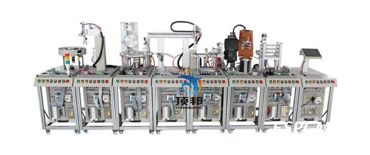 机器人柔性自动化生产线实训系统(八站)